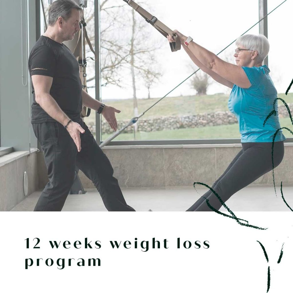 12 weeks weight loss program