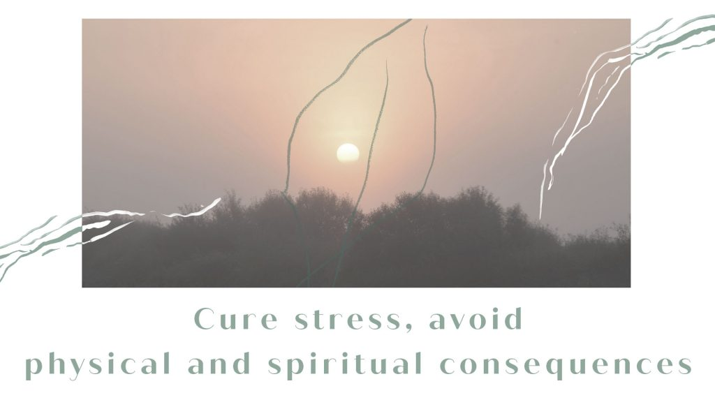 Cure stress, avoid physical and spiritual consequences mobile