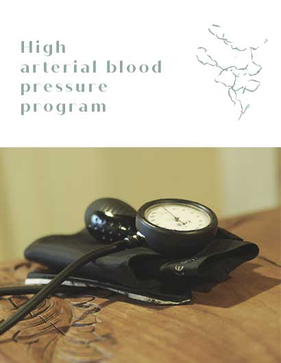 High arterial blood pressure program mobile