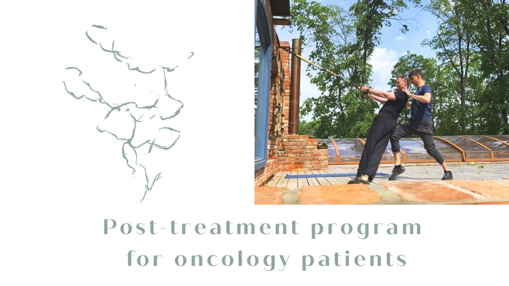 Post-treatment program for oncology patients